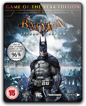 Batman: Arkham Asylum - Game of the Year Edition (2010) PC | RePack от xatab