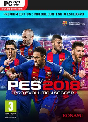 Pro Evolution Soccer 2018 (2017) PC | RePack от xatab